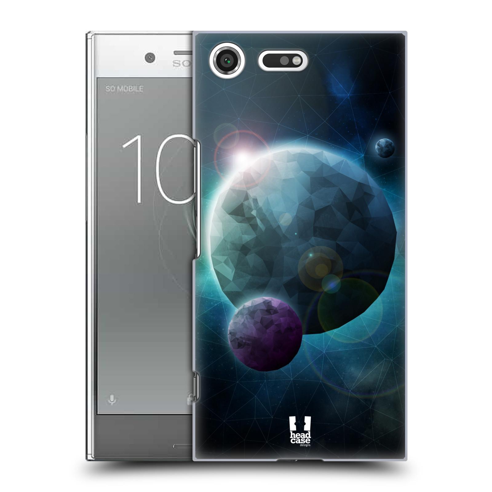 Plastové pouzdro na mobil Sony Xperia XZ Premium Head Case - UNIVERSE DISCOVER (Plastový kryt či obal na mobilní telefon Sony Xperia XZ Premium G8142)