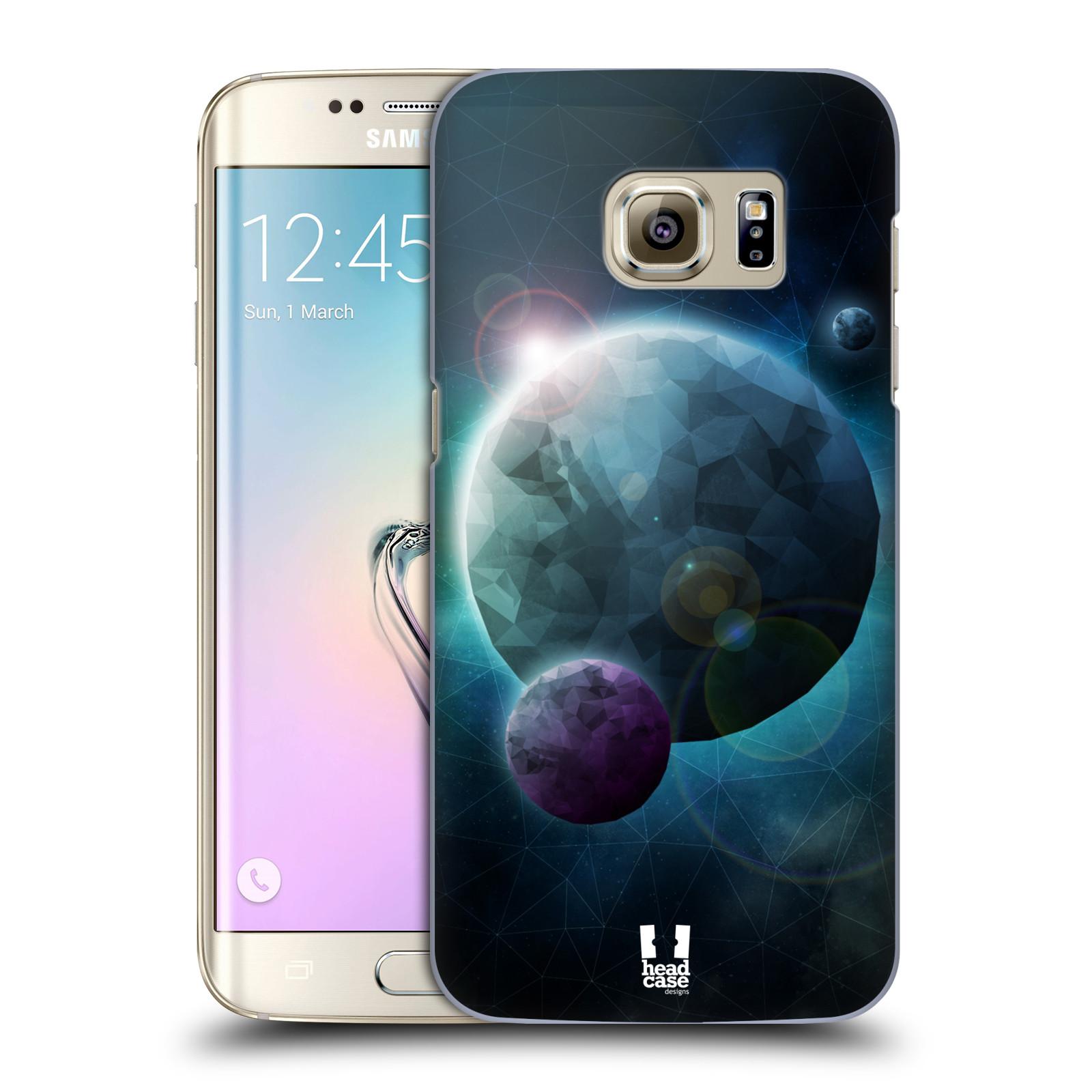 Plastové pouzdro na mobil Samsung Galaxy S7 Edge HEAD CASE UNIVERSE DISCOVER (Kryt či obal na mobilní telefon Samsung Galaxy S7 Edge SM-G935F)
