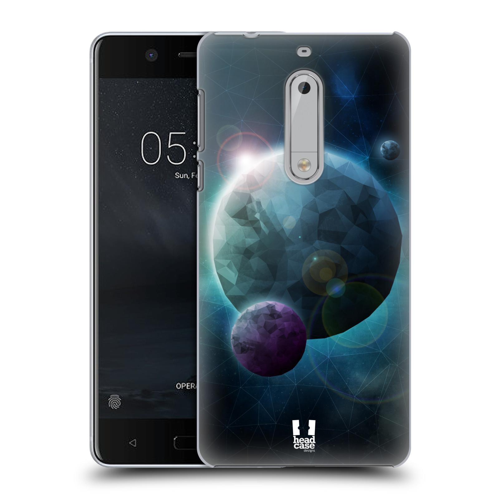 Plastové pouzdro na mobil Nokia 5 Head Case - UNIVERSE DISCOVER (Plastový kryt či obal na mobilní telefon Nokia 5 (2017))
