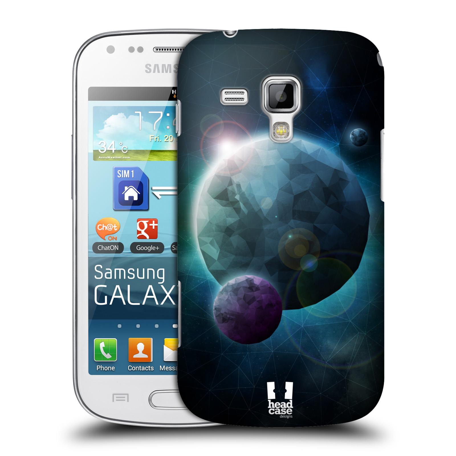 Plastové pouzdro na mobil Samsung Galaxy S Duos 2 HEAD CASE UNIVERSE DISCOVER