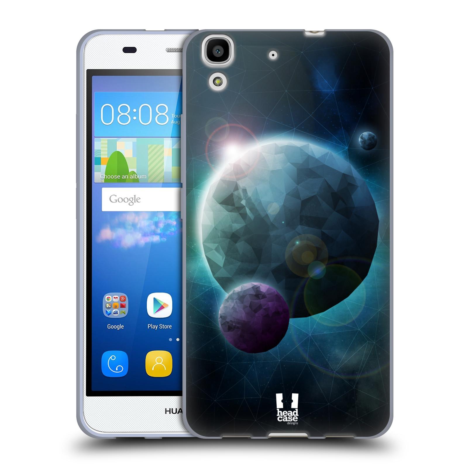Silikonové pouzdro na mobil Huawei Y6 HEAD CASE UNIVERSE DISCOVER