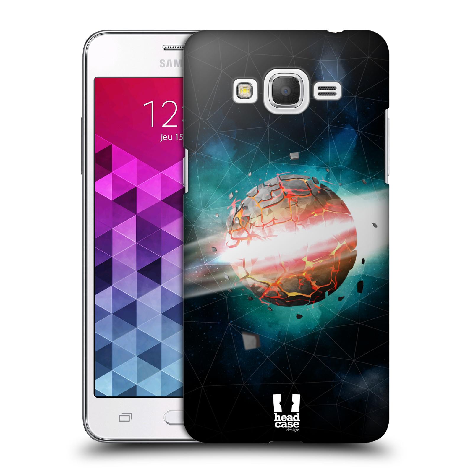Plastové pouzdro na mobil Samsung Galaxy Grand Prime HEAD CASE UNIVERSE EXPLOSION