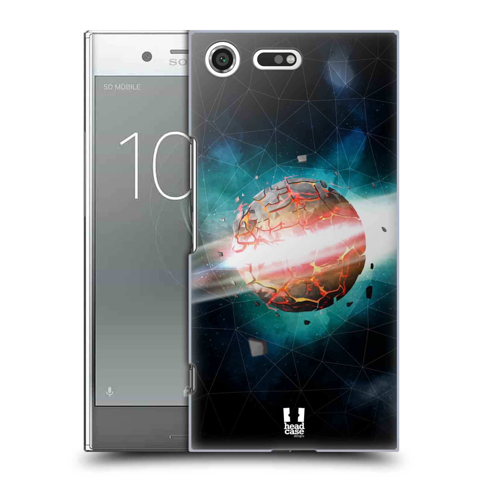 Plastové pouzdro na mobil Sony Xperia XZ Premium Head Case - UNIVERSE EXPLOSION (Plastový kryt či obal na mobilní telefon Sony Xperia XZ Premium G8142)