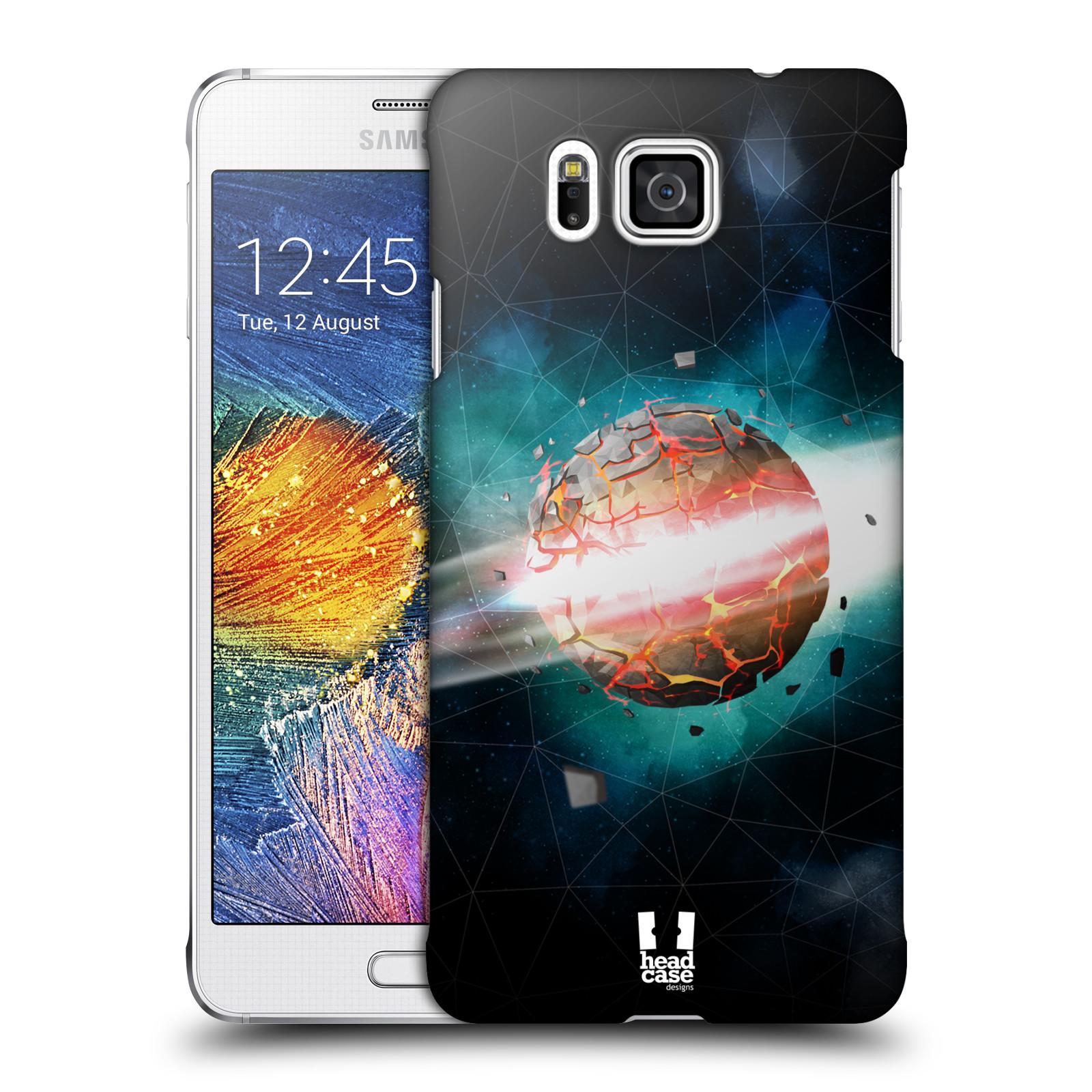 Plastové pouzdro na mobil Samsung Galaxy Alpha HEAD CASE UNIVERSE EXPLOSION