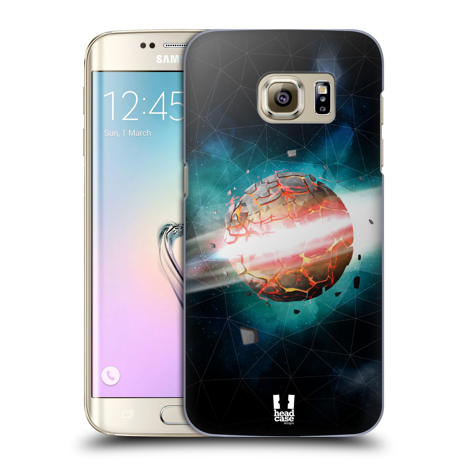 Plastové pouzdro na mobil Samsung Galaxy S7 Edge HEAD CASE UNIVERSE EXPLOSION (Kryt či obal na mobilní telefon Samsung Galaxy S7 Edge SM-G935F)
