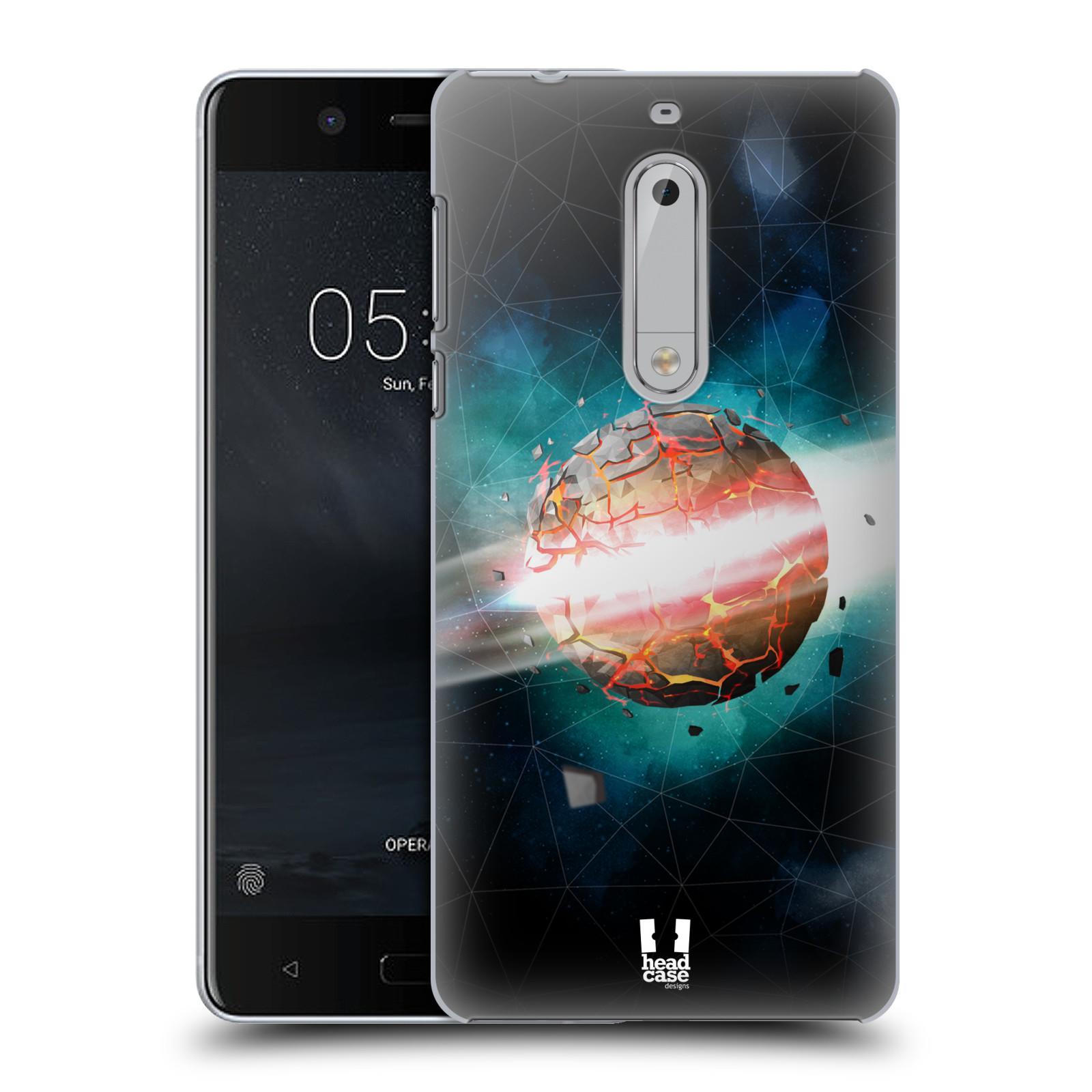 Plastové pouzdro na mobil Nokia 5 Head Case - UNIVERSE EXPLOSION (Plastový kryt či obal na mobilní telefon Nokia 5 (2017))