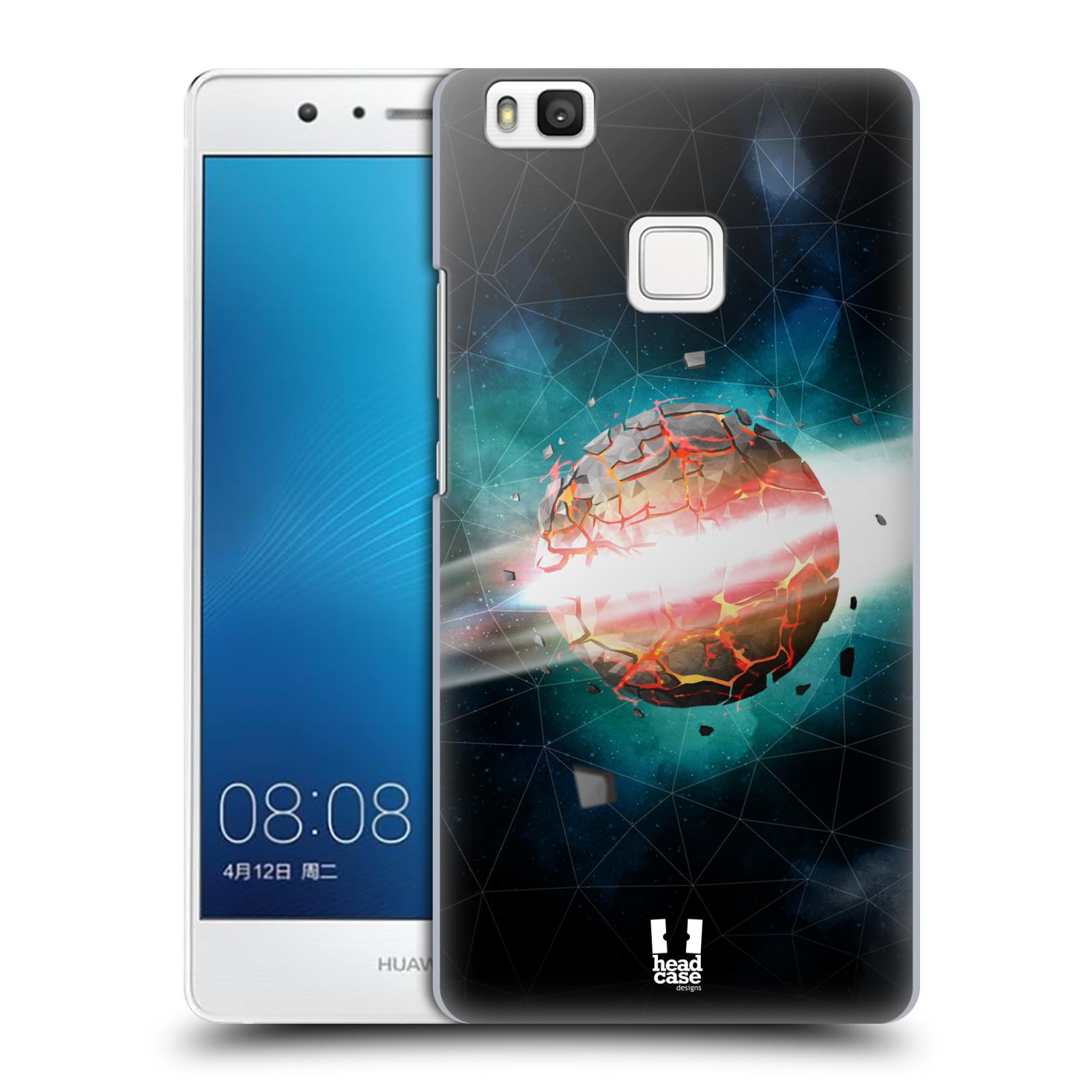 Plastové pouzdro na mobil Huawei P9 Lite HEAD CASE UNIVERSE EXPLOSION