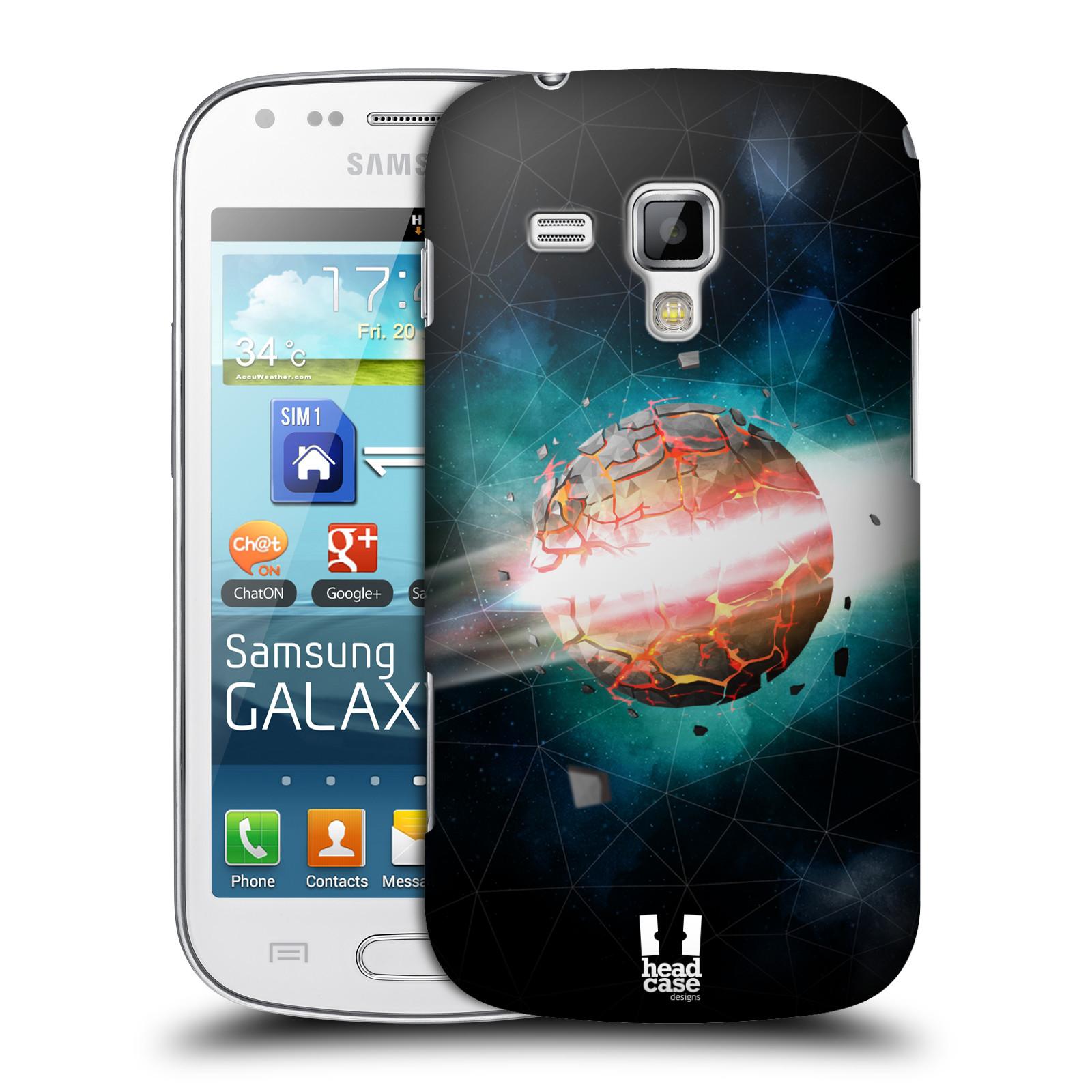Plastové pouzdro na mobil Samsung Galaxy Trend Plus HEAD CASE UNIVERSE EXPLOSION