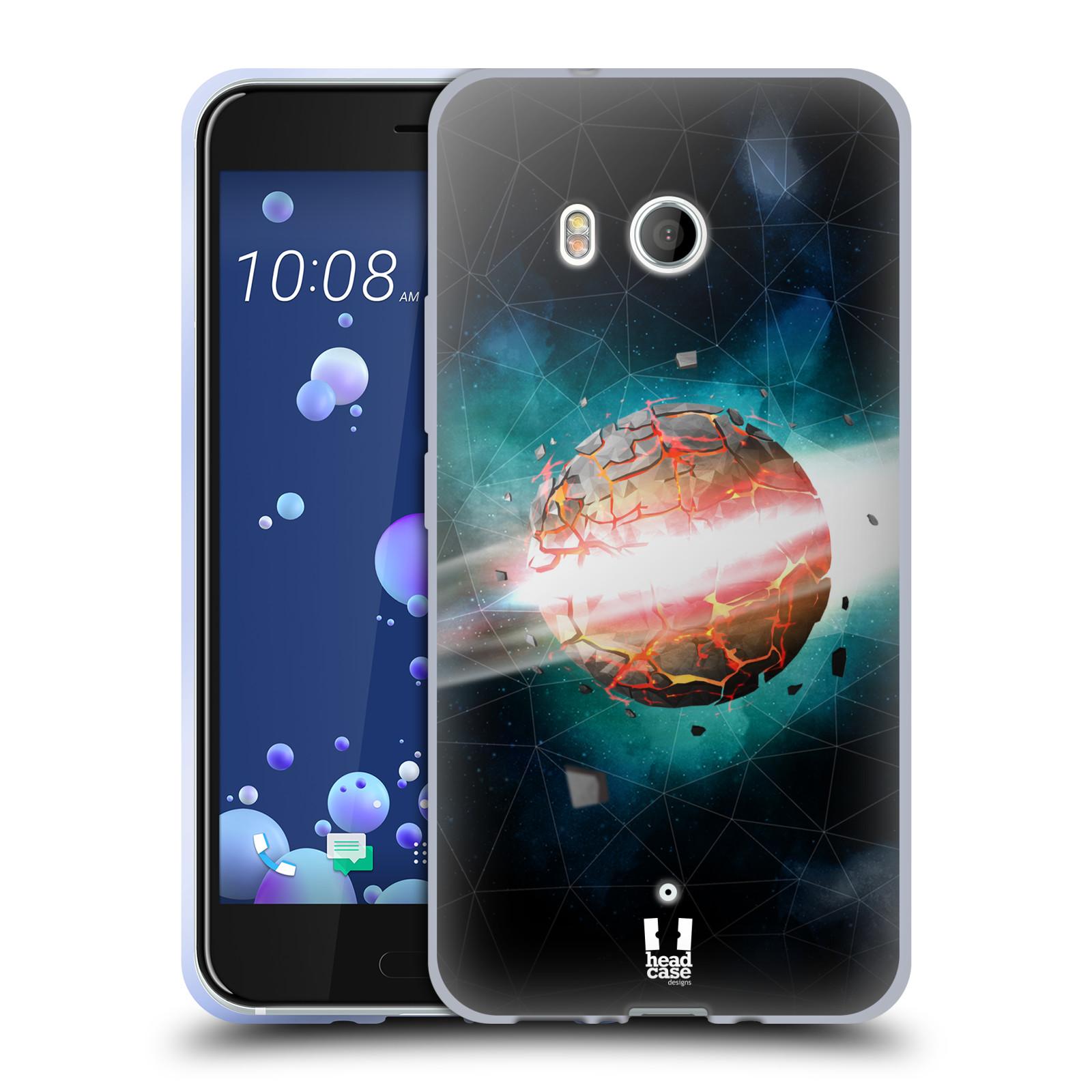 Silikonové pouzdro na mobil HTC U11 - Head Case - UNIVERSE EXPLOSION
