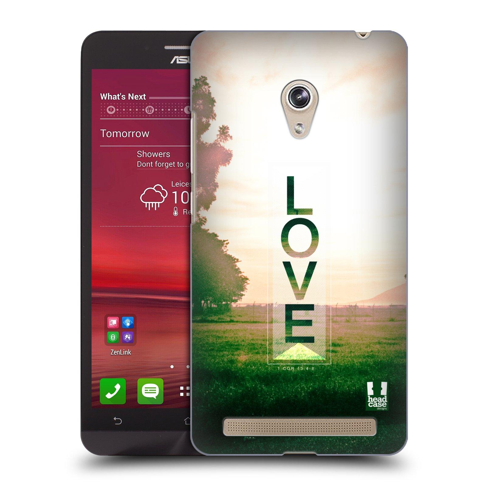 Plastové pouzdro na mobil Asus Zenfone 6 HEAD CASE Láska (Kryt či obal na mobilní telefon Asus Zenfone 6 A600CG / A601CG)