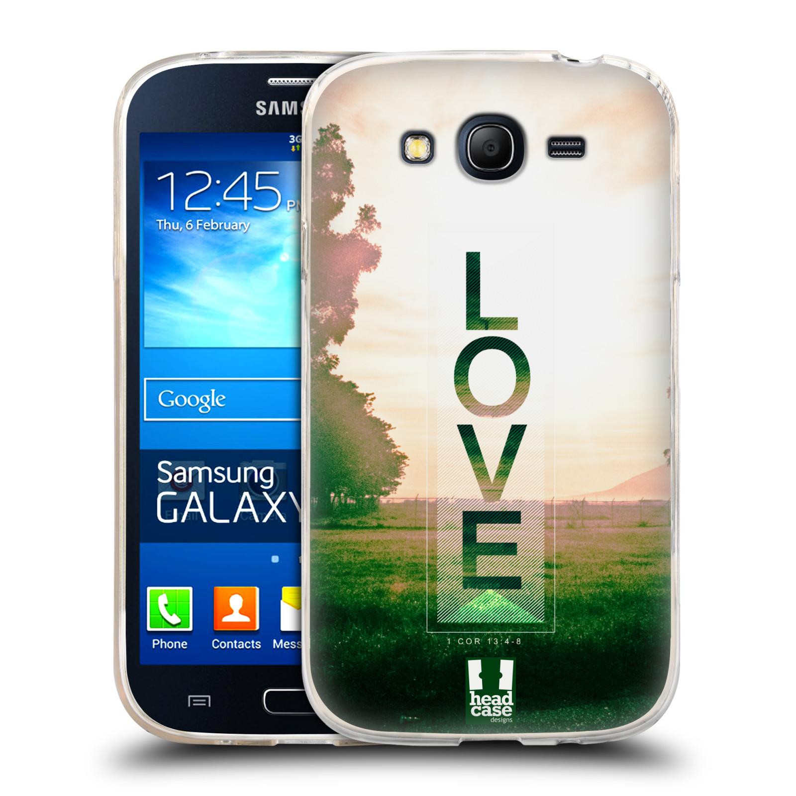 Silikonové pouzdro na mobil Samsung Galaxy Grand Neo Plus HEAD CASE Láska (Silikonový kryt či obal na mobilní telefon Samsung Galaxy Grand Neo Plus Duos GT-I9060i)