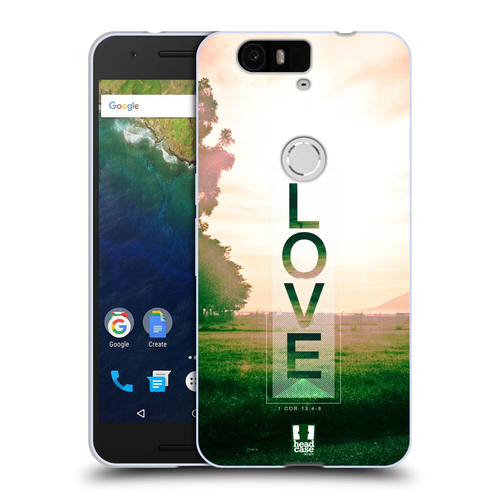Silikonové pouzdro na mobil Huawei Nexus 6P HEAD CASE Láska (Silikonový kryt či obal na mobilní telefon Huawei Nexus 6P)