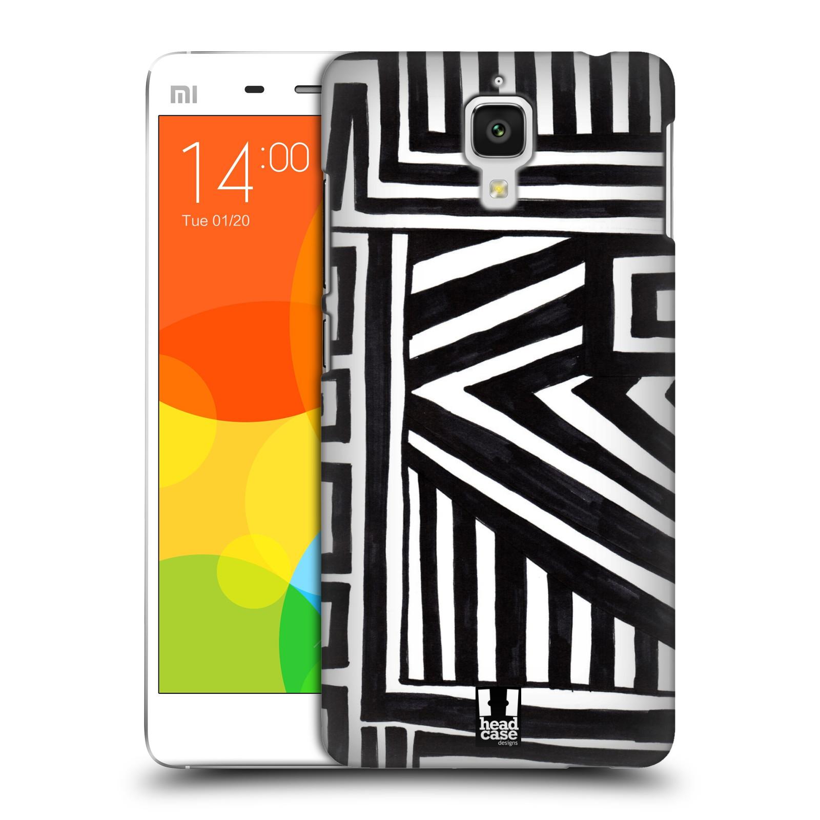 Plastové pouzdro na mobil Xiaomi Mi4 HEAD CASE DOODLE GEOMETRIC (Kryt či obal na mobilní telefon Xiaomi Mi4)