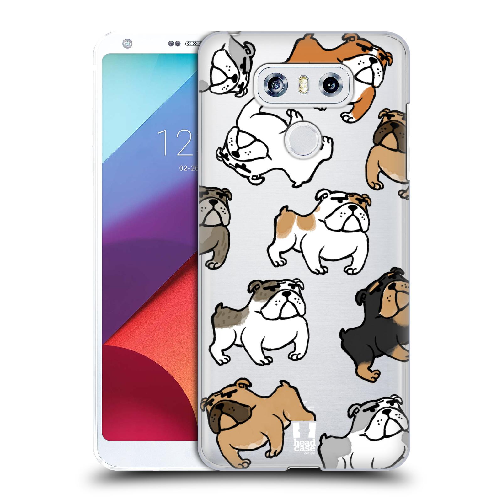 Plastové pouzdro na mobil LG G6 - Head Case - Buldoci (Plastový kryt či obal na mobilní telefon s motivem buldoků pro LG G6 H870 / LG G6 Dual SIM H870DS)