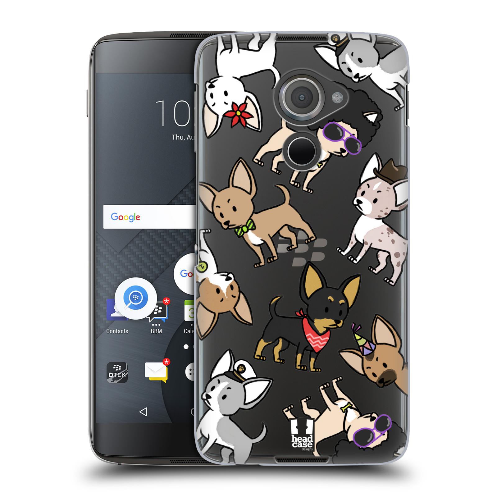 Plastové pouzdro na mobil Blackberry DTEK60 (Argon) - Head Case - Čivavy (Plastový kryt či obal na mobilní telefon s motivem čivav pro Blackberry DTEK60 (Argon))