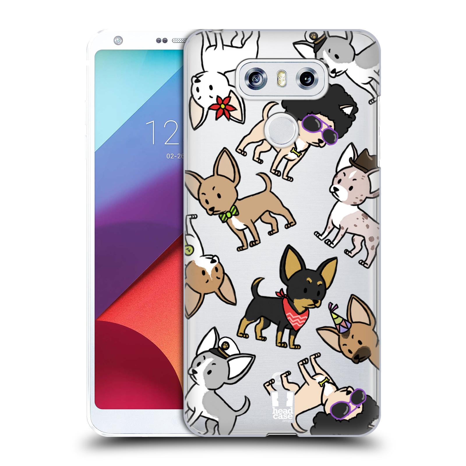 Plastové pouzdro na mobil LG G6 - Head Case - Čivavy (Plastový kryt či obal na mobilní telefon s motivem čivav pro LG G6 H870 / LG G6 Dual SIM H870DS)