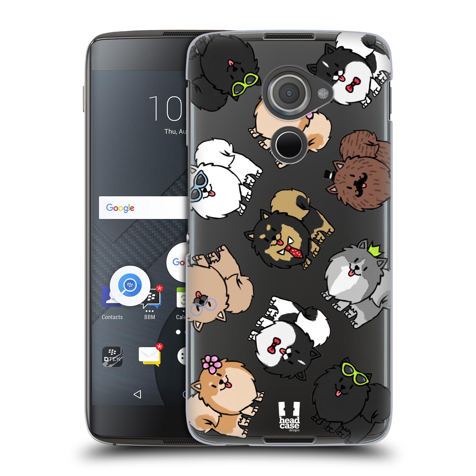 Plastové pouzdro na mobil Blackberry DTEK60 (Argon) - Head Case - Špic - Pomeranian (Plastový kryt či obal na mobilní telefon s motivem špice pro Blackberry DTEK60 (Argon))