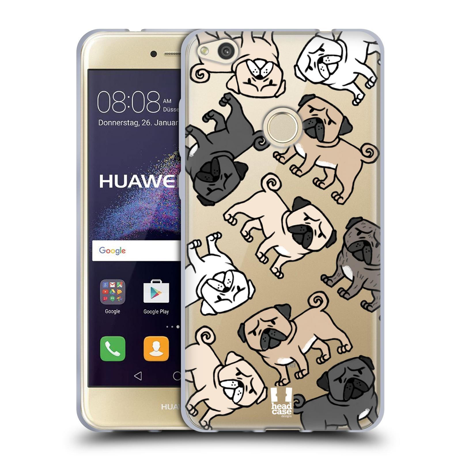 Silikonové pouzdro na mobil Honor 8 Lite - Head Case - Mopsíci empty 8469c748431