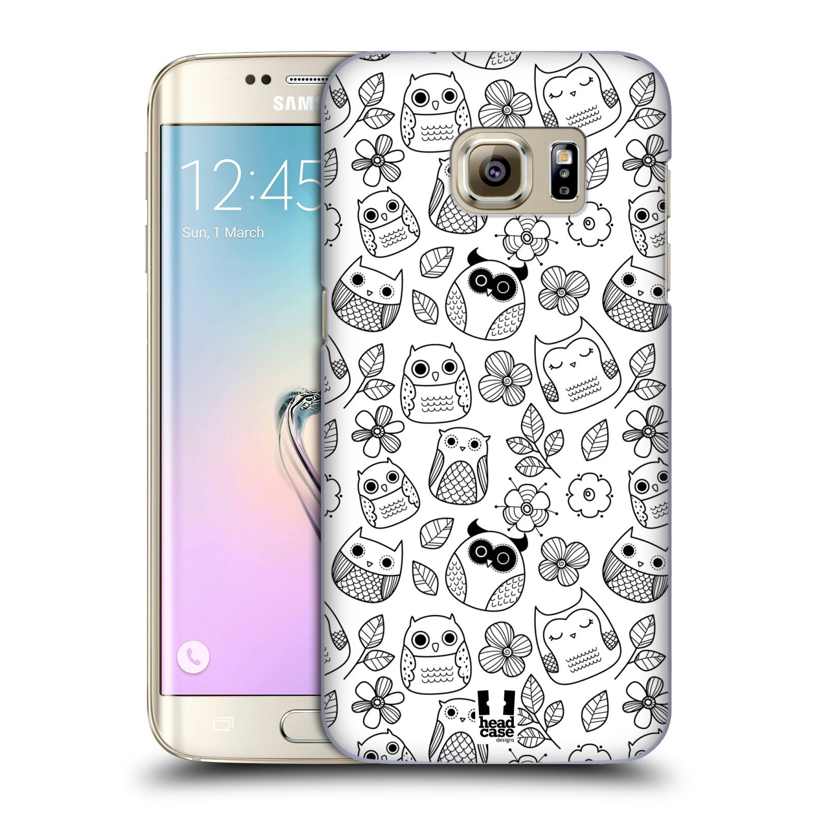 Plastové pouzdro na mobil Samsung Galaxy S7 Edge HEAD CASE SOVIČKY A KYTIČKY (Kryt či obal na mobilní telefon Samsung Galaxy S7 Edge SM-G935F)