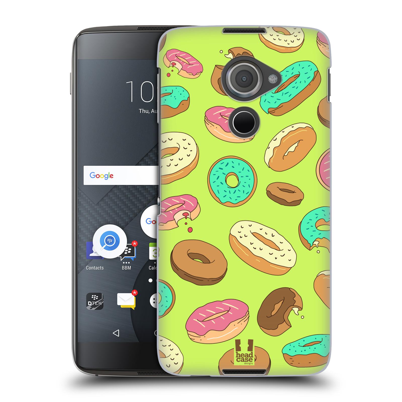 Plastové pouzdro na mobil Blackberry DTEK60 (Argon) - Head Case DONUTKY (Plastový kryt či obal na mobilní telefon Blackberry DTEK60 (Argon))