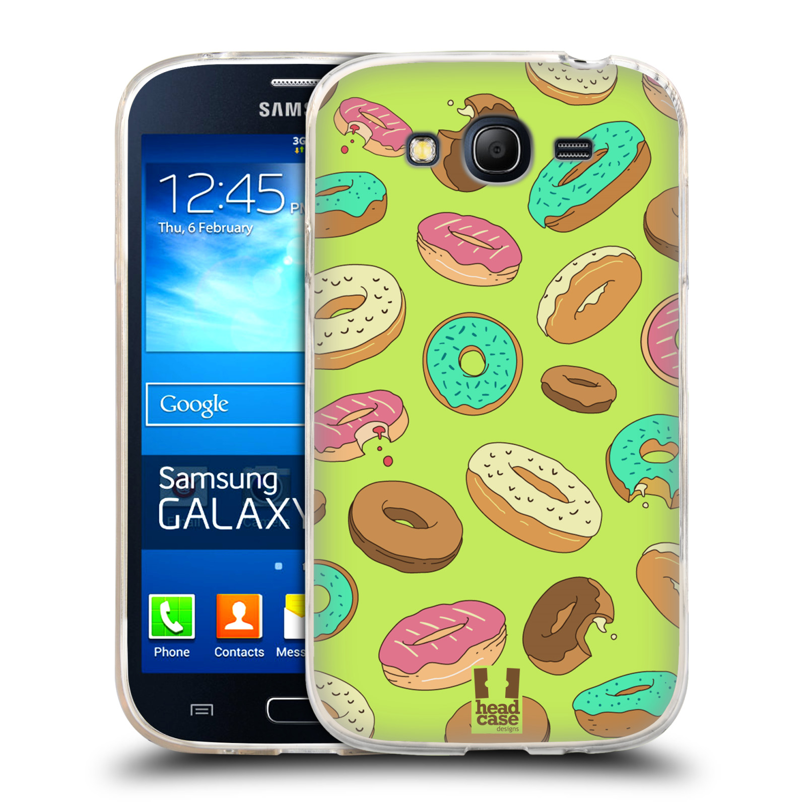 Silikonové pouzdro na mobil Samsung Galaxy Grand Neo Plus HEAD CASE DONUTKY (Silikonový kryt či obal na mobilní telefon Samsung Galaxy Grand Neo Plus Duos GT-I9060i)