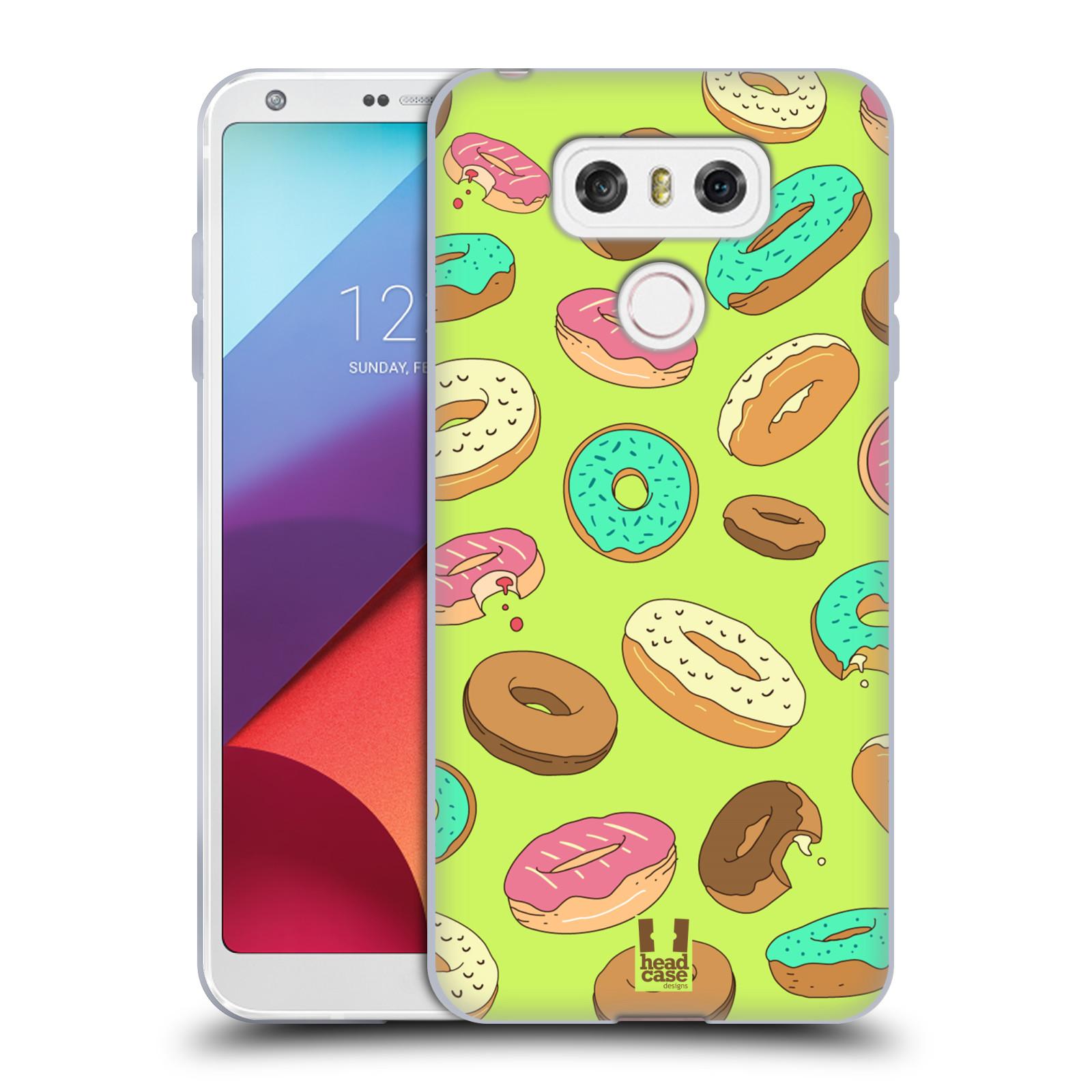 Silikonové pouzdro na mobil LG G6 - Head Case DONUTKY (Silikonový kryt či obal na mobilní telefon LG G6 H870 / LG G6 Dual SIM H870DS)