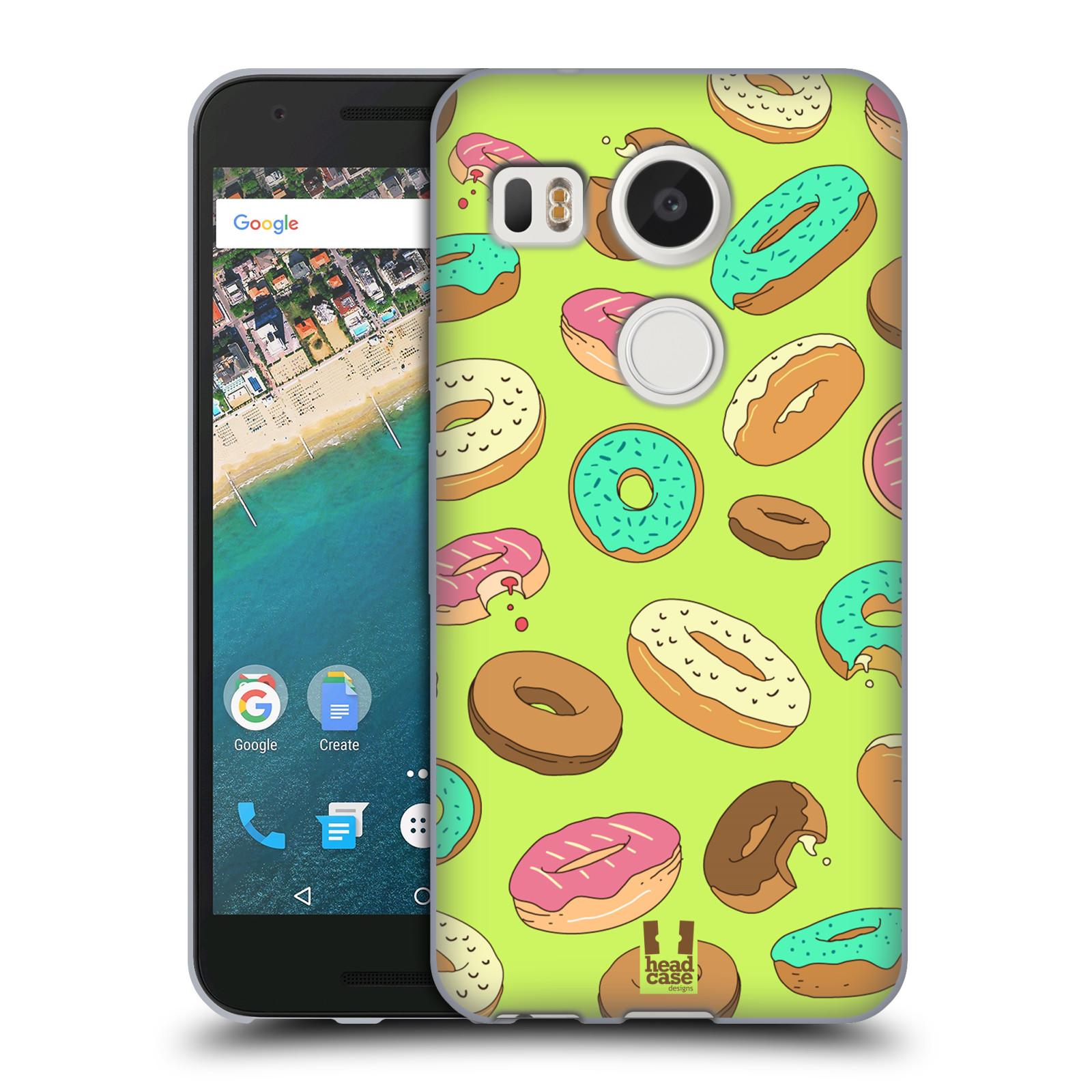 Silikonové pouzdro na mobil LG Nexus 5X - Head Case - DONUTKY (Silikonový kryt či obal na mobilní telefon LG Nexus 5X)
