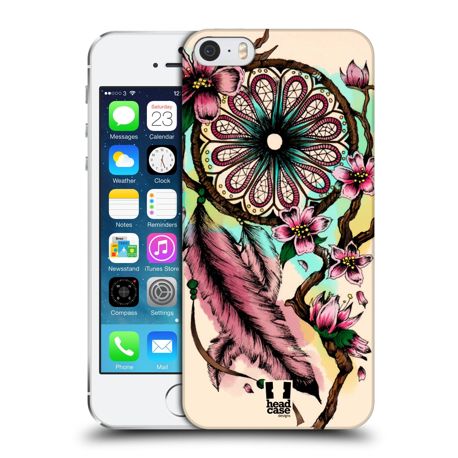 Plastové pouzdro na mobil Apple iPhone SE, 5 a 5S HEAD CASE BLOOM BLOSSOMS