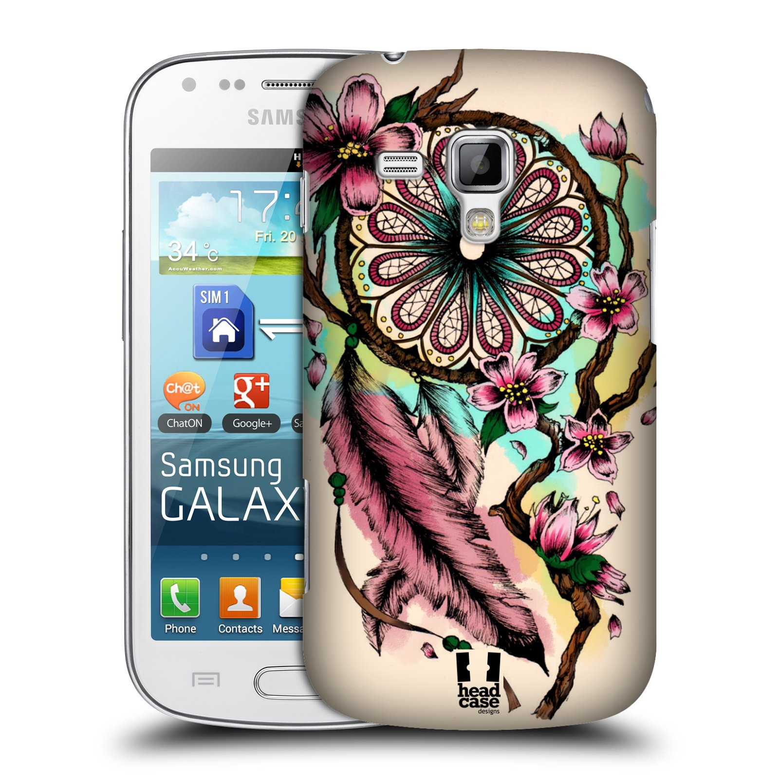 Plastové pouzdro na mobil Samsung Galaxy Trend Plus HEAD CASE BLOOM BLOSSOMS