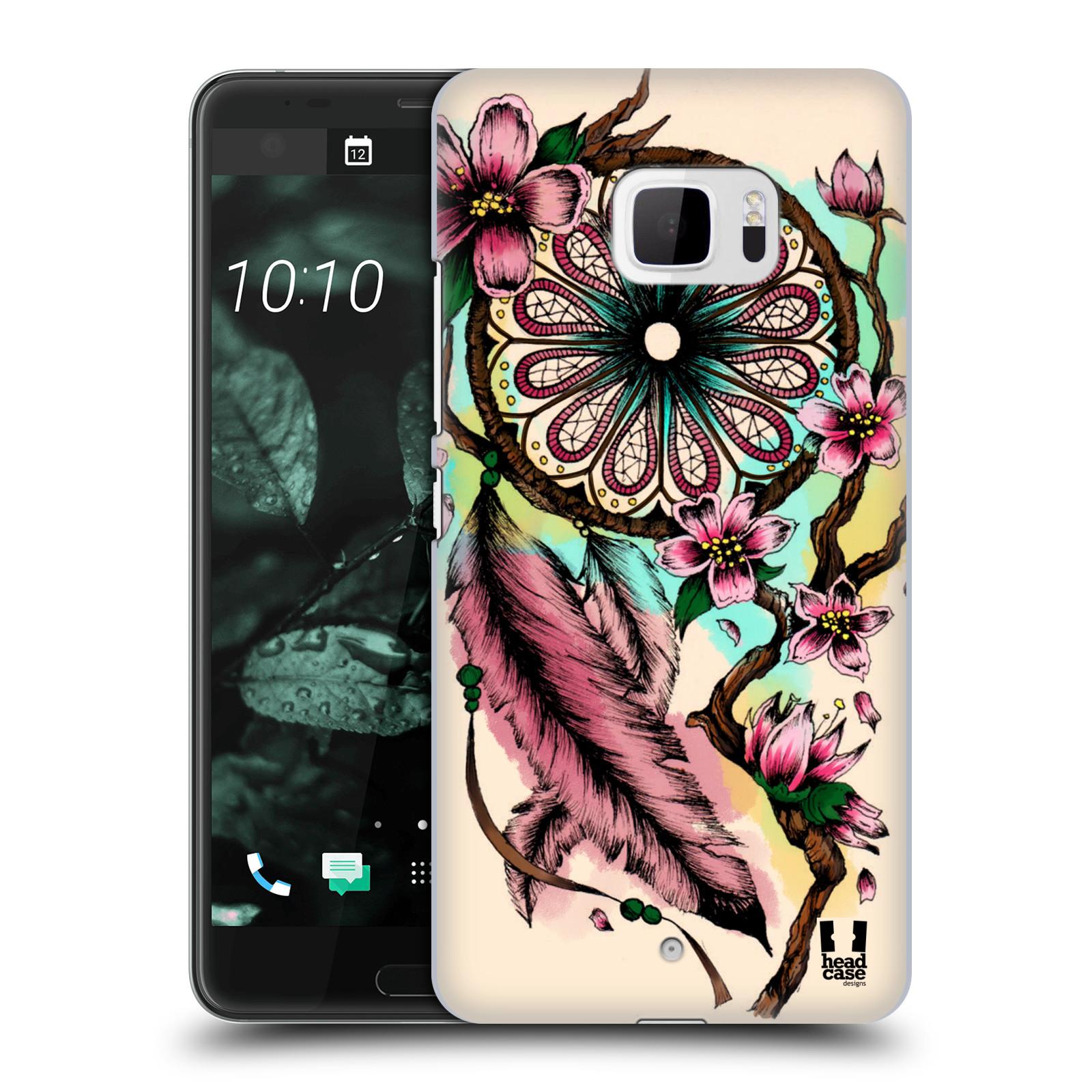 Plastové pouzdro na mobil HTC U Ultra Head Case - BLOOM BLOSSOMS (Plastový kryt či obal na mobilní telefon HTC U Ultra (99HALT015-00))