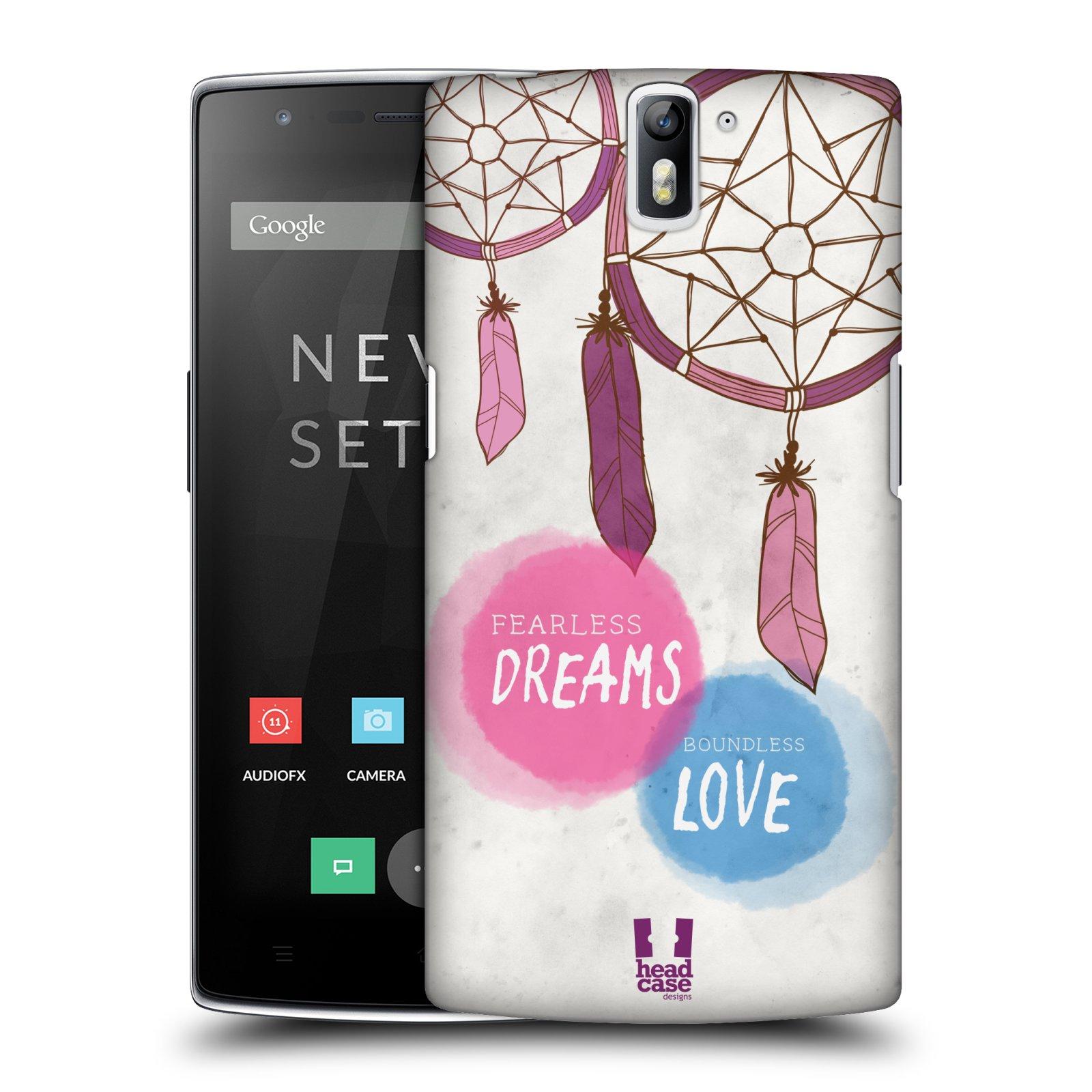 Plastové pouzdro na mobil OnePlus One HEAD CASE LAPAČ FEARLESS (Kryt či obal na mobilní telefon OnePlus One)