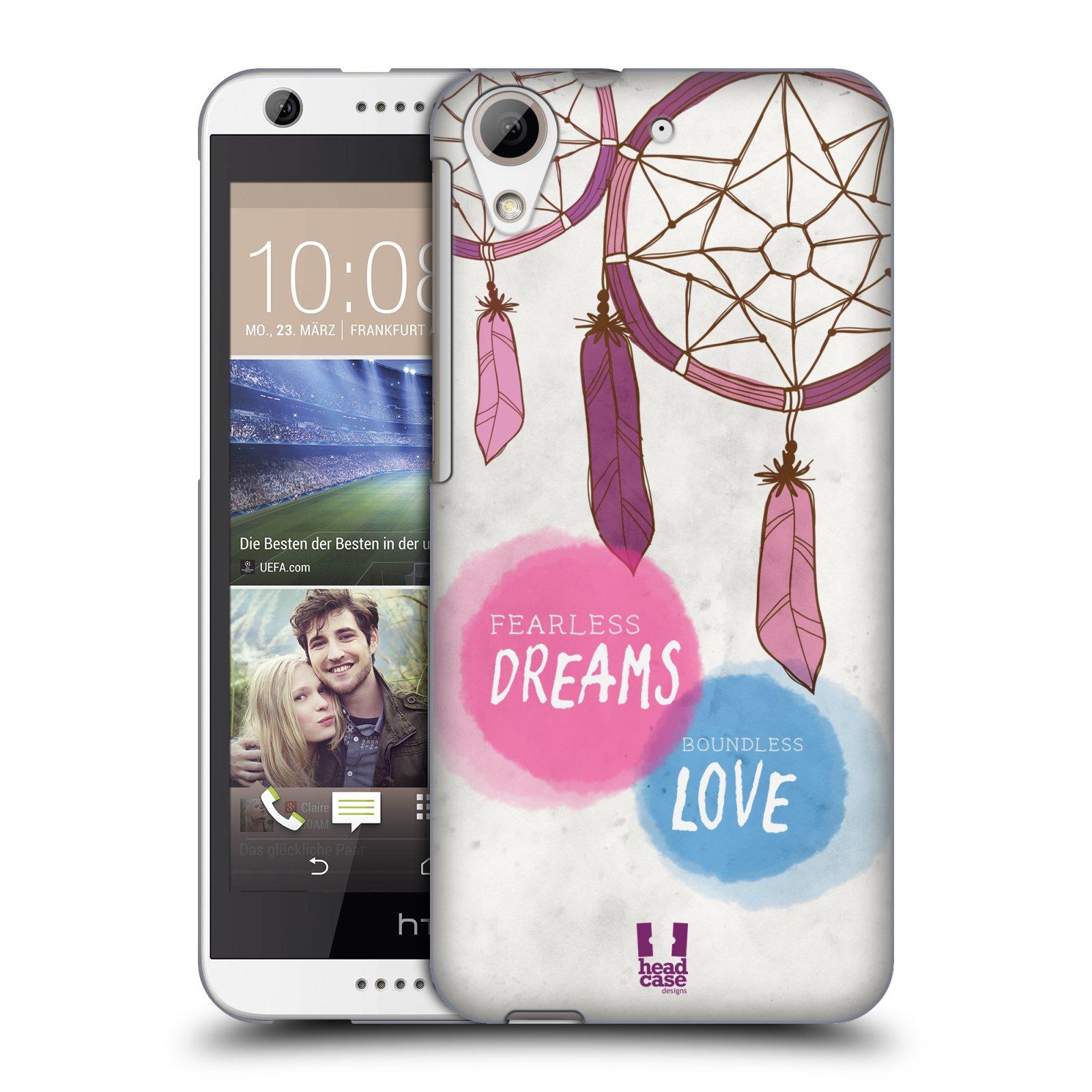 Plastové pouzdro na mobil HTC Desire 626 / 626G HEAD CASE LAPAČ FEARLESS (Kryt či obal na mobilní telefon HTC Desire 626G Dual SIM a HTC Desire 626)