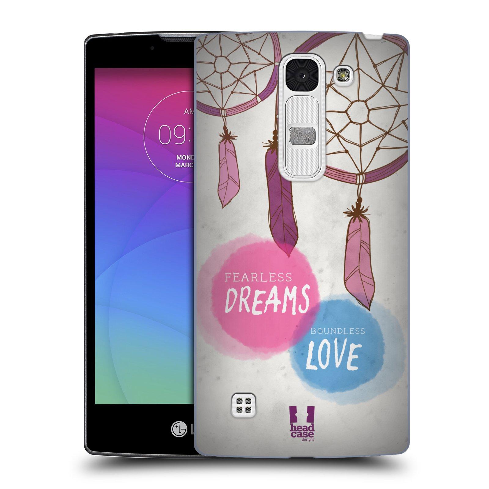 Plastové pouzdro na mobil LG Spirit LTE HEAD CASE LAPAČ FEARLESS (Kryt či obal na mobilní telefon LG Spirit H420 a LG Spirit LTE H440N)