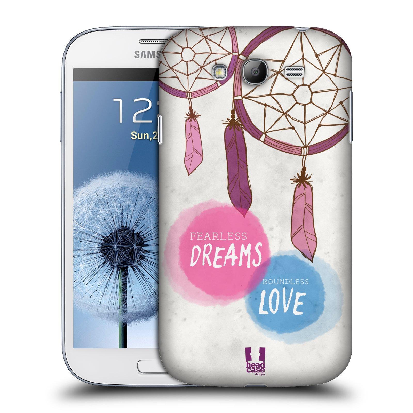 Plastové pouzdro na mobil Samsung Galaxy Grand Neo Plus HEAD CASE LAPAČ FEARLESS (Kryt či obal na mobilní telefon Samsung Galaxy Grand Neo Plus GT-i9060i)