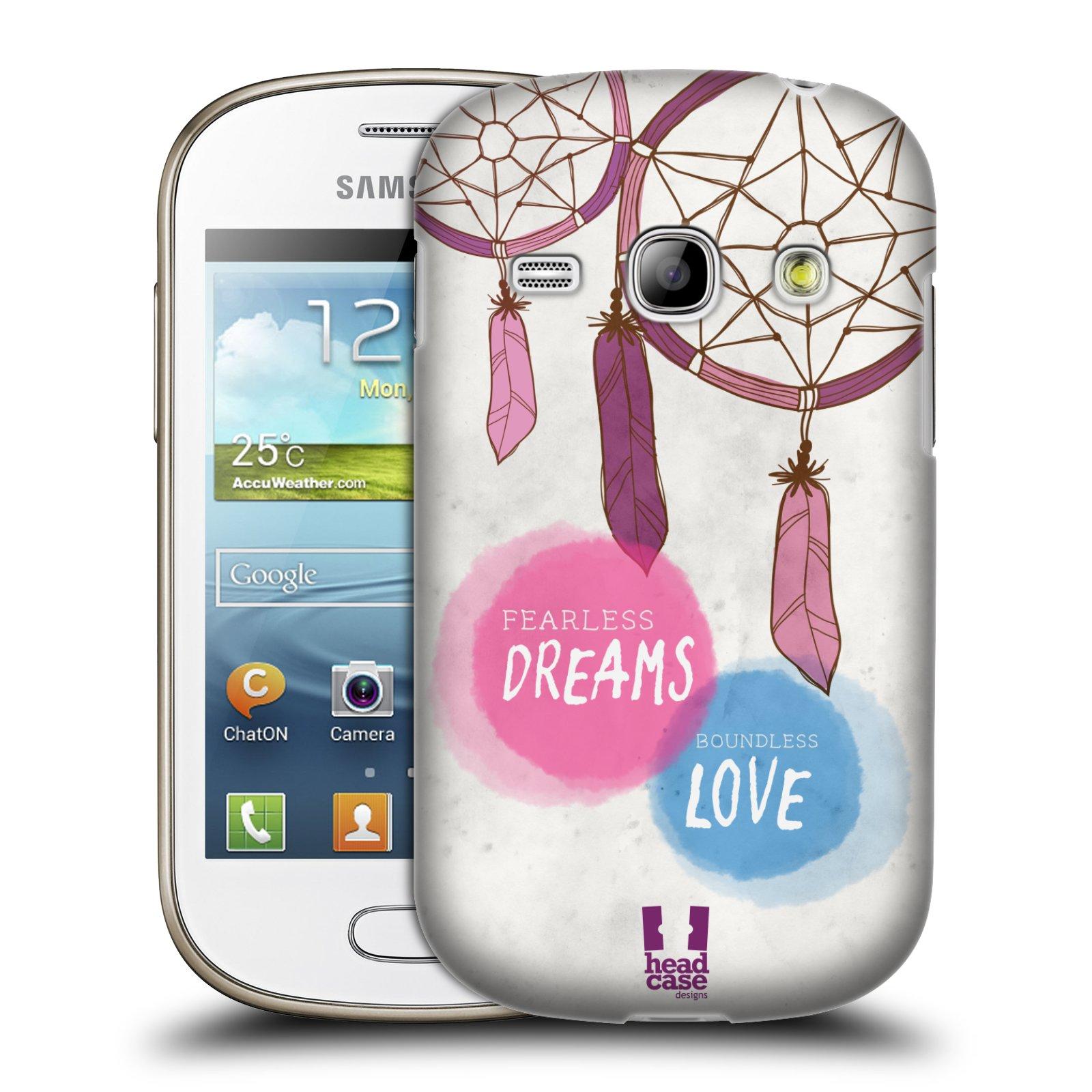 Plastové pouzdro na mobil Samsung Galaxy Fame HEAD CASE LAPAČ FEARLESS (Kryt či obal na mobilní telefon Samsung Galaxy Fame GT-S6810)