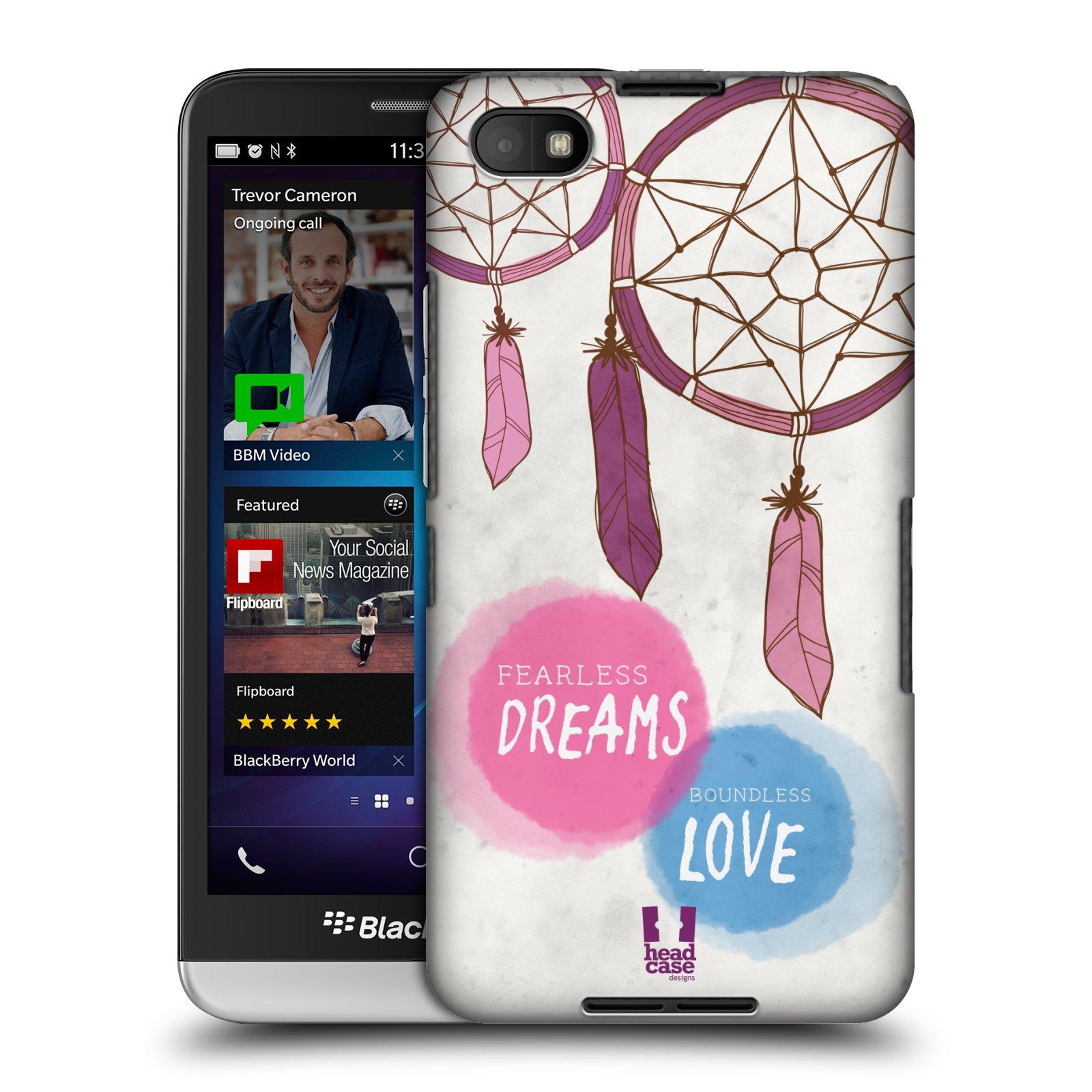 Plastové pouzdro na mobil Blackberry Z30 HEAD CASE LAPAČ FEARLESS (Kryt či obal na mobilní telefon Blackberry Z30)