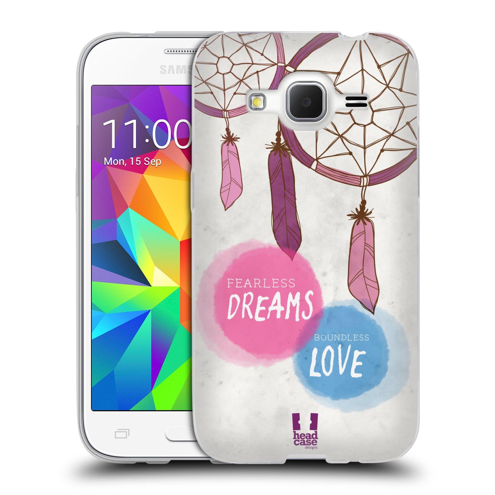 Silikonové pouzdro na mobil Samsung Galaxy Core Prime LTE HEAD CASE LAPAČ FEARLESS (Silikonový kryt či obal na mobilní telefon Samsung Galaxy Core Prime LTE SM-G360)
