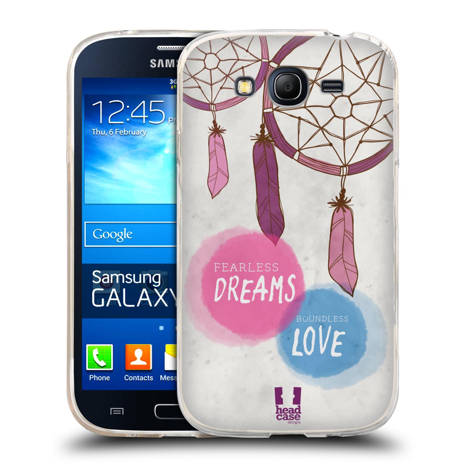 Silikonové pouzdro na mobil Samsung Galaxy Grand Neo HEAD CASE LAPAČ FEARLESS (Silikonový kryt či obal na mobilní telefon Samsung Galaxy Grand Neo GT-I9060)