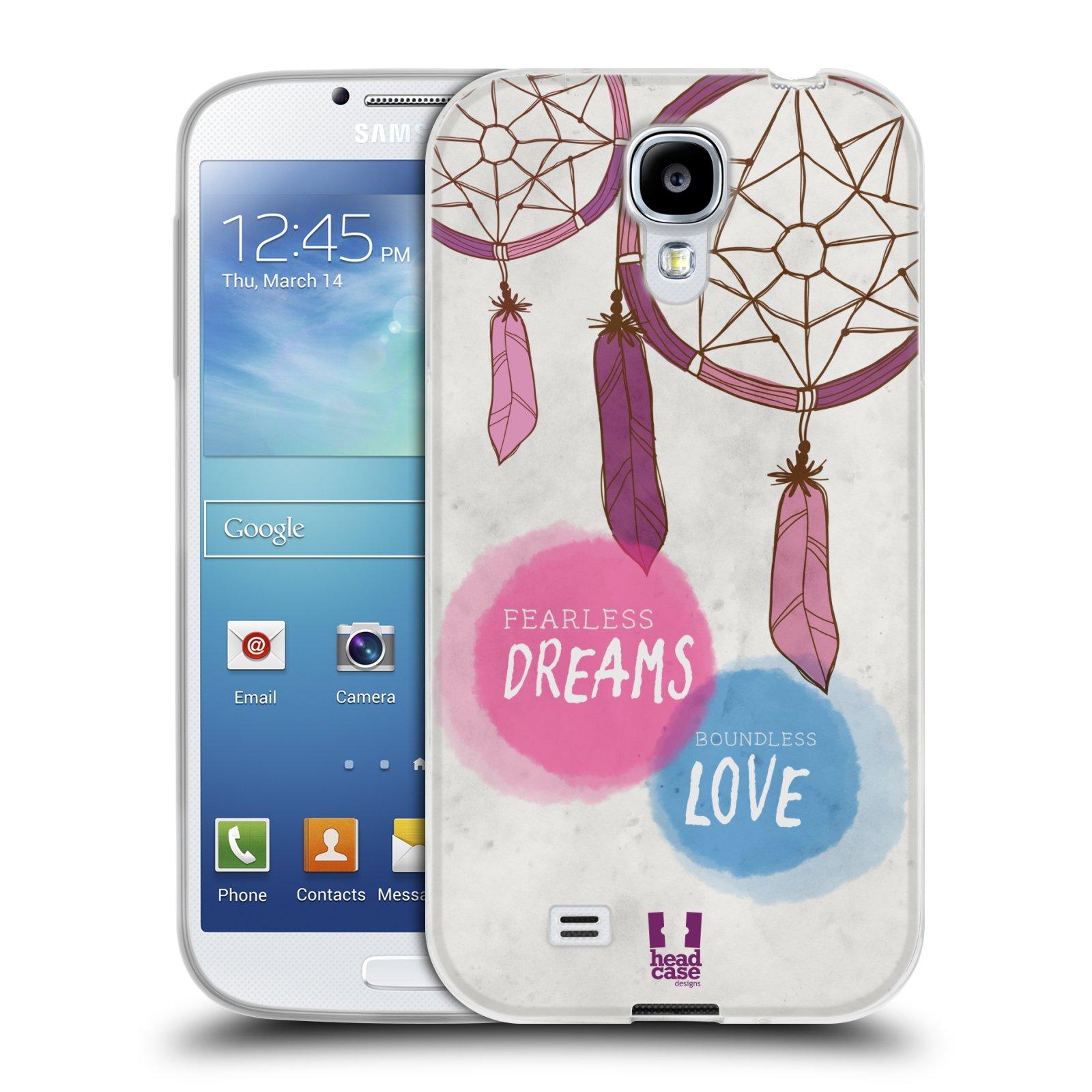 Silikonové pouzdro na mobil Samsung Galaxy S4 HEAD CASE LAPAČ FEARLESS (Silikonový kryt či obal na mobilní telefon Samsung Galaxy S4 GT-i9505 / i9500)