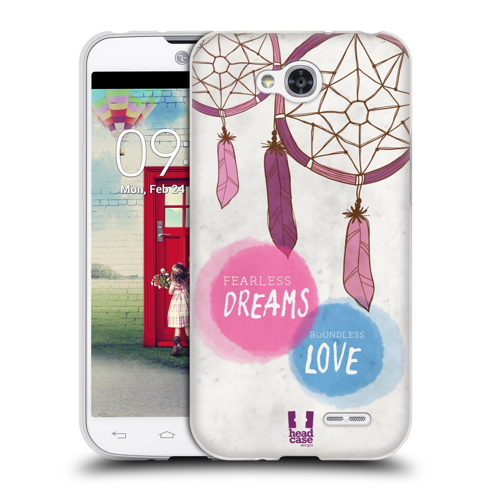 Silikonové pouzdro na mobil LG L90 HEAD CASE LAPAČ FEARLESS (Silikonový kryt či obal na mobilní telefon LG L90 D405n)