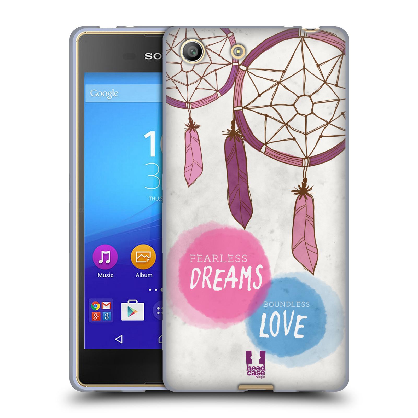 Silikonové pouzdro na mobil Sony Xperia M5 HEAD CASE LAPAČ FEARLESS (Silikonový kryt či obal na mobilní telefon Sony Xperia M5 Dual SIM / Aqua)