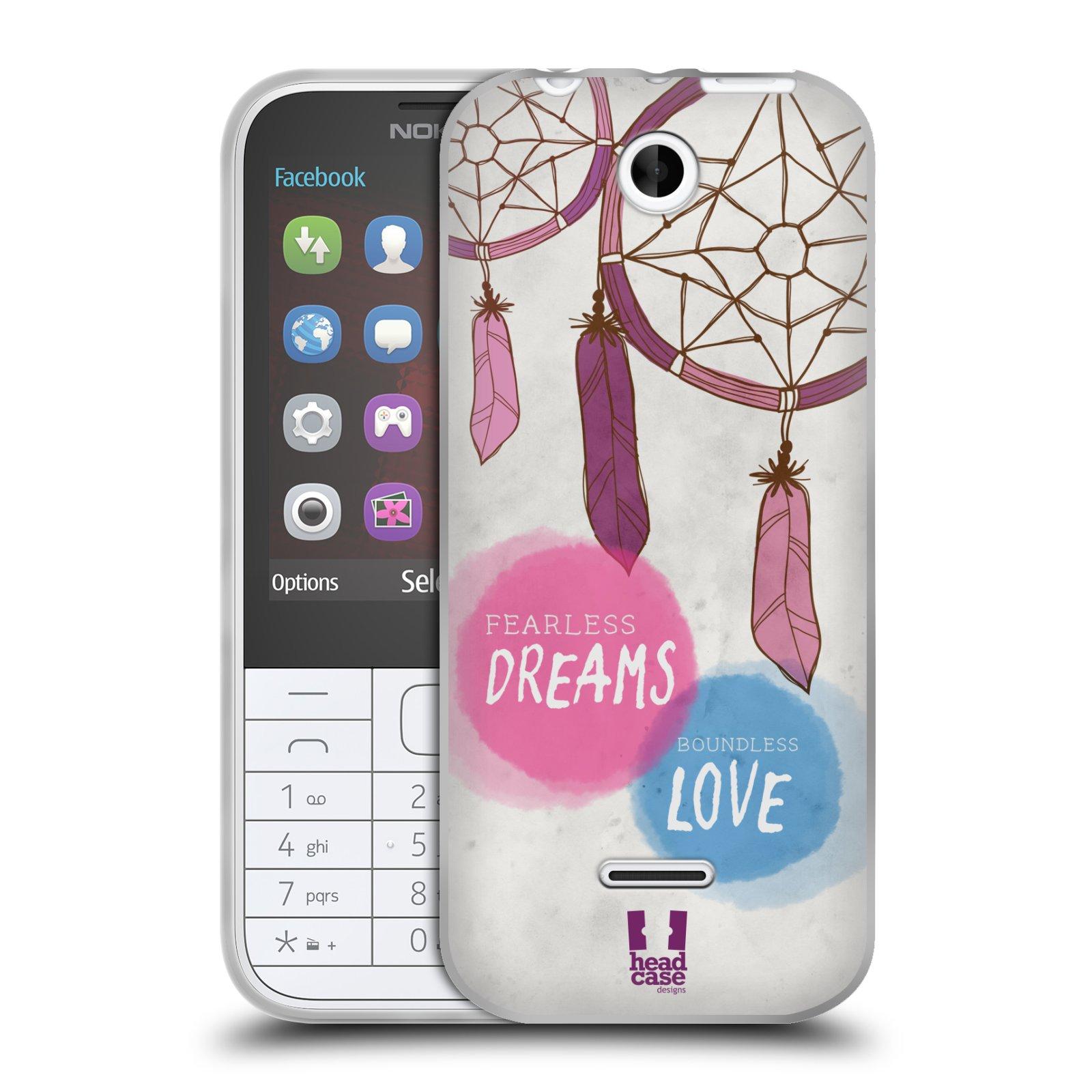 Silikonové pouzdro na mobil Nokia 225 HEAD CASE LAPAČ FEARLESS (Silikonový kryt či obal na mobilní telefon Nokia 225)