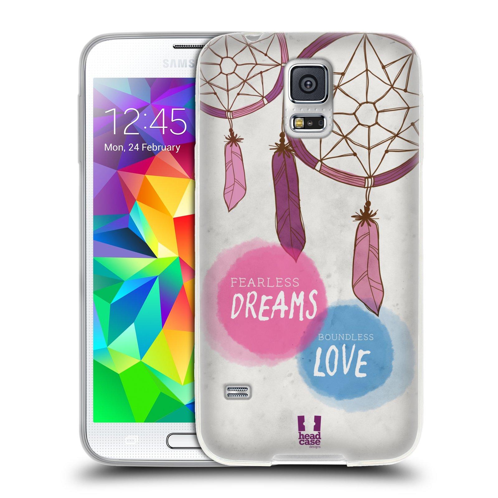 Silikonové pouzdro na mobil Samsung Galaxy S5 HEAD CASE LAPAČ FEARLESS (Silikonový kryt či obal na mobilní telefon Samsung Galaxy S5 SM-G900F)