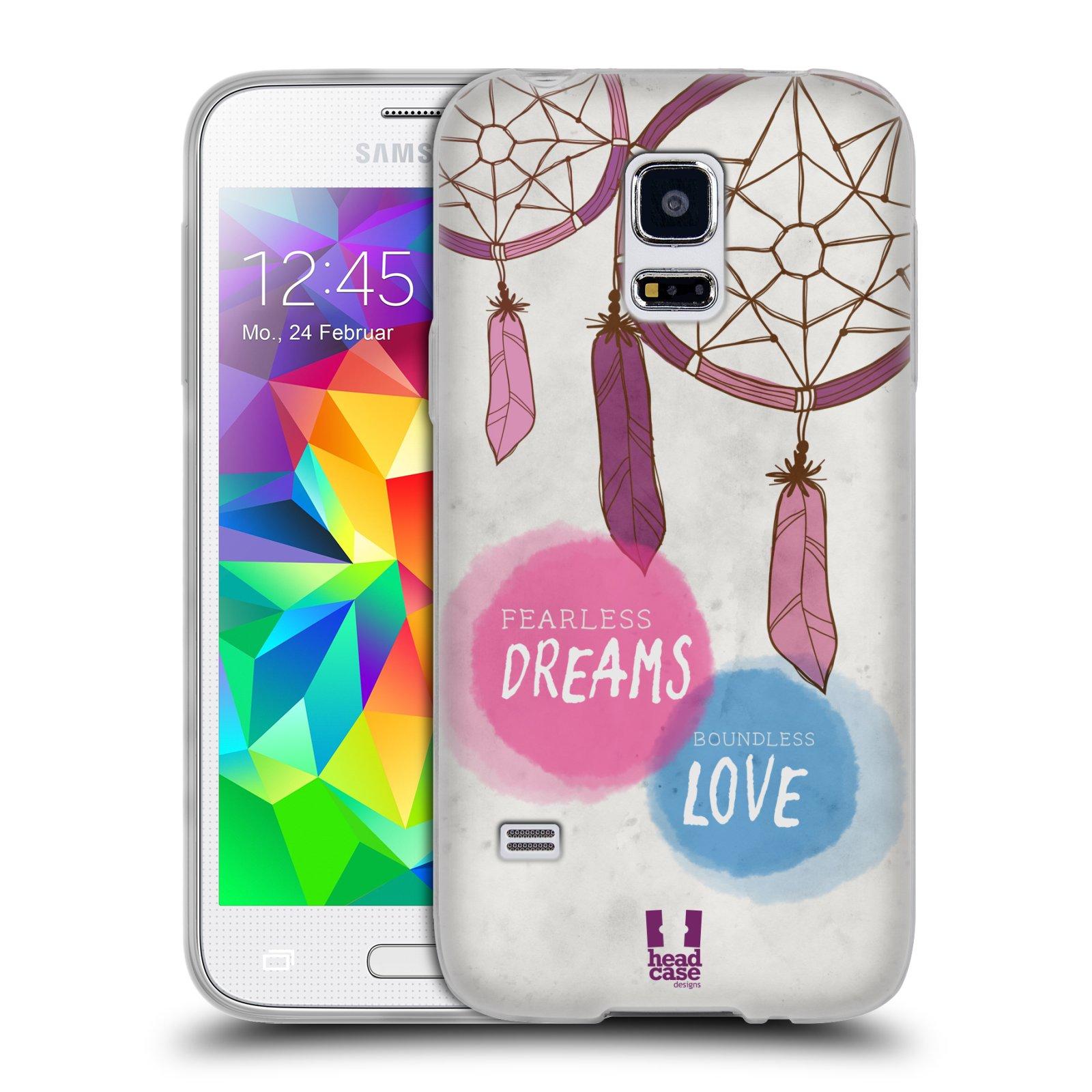 Silikonové pouzdro na mobil Samsung Galaxy S5 Mini HEAD CASE LAPAČ FEARLESS (Silikonový kryt či obal na mobilní telefon Samsung Galaxy S5 Mini SM-G800F)