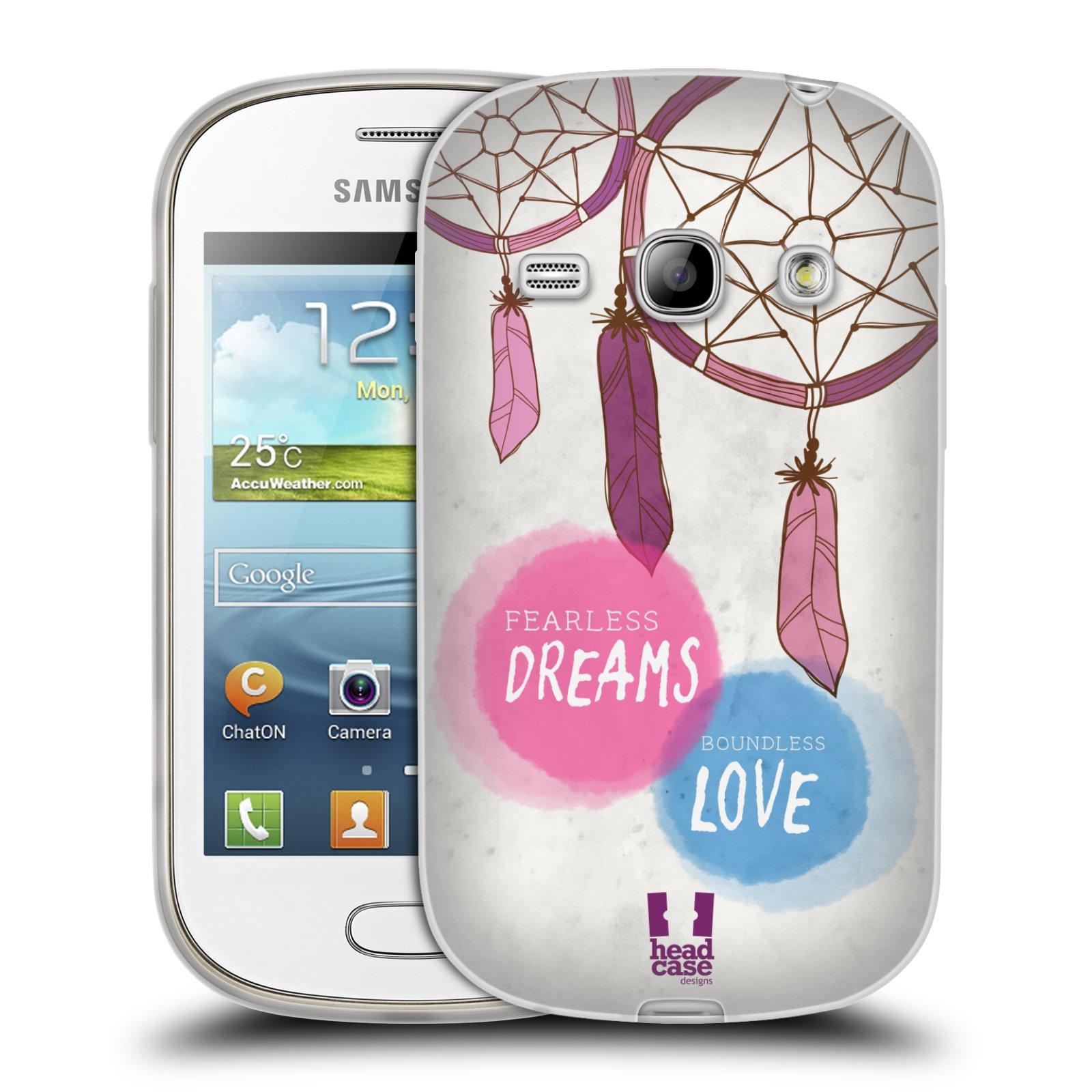Silikonové pouzdro na mobil Samsung Galaxy Fame HEAD CASE LAPAČ FEARLESS (Silikonový kryt či obal na mobilní telefon Samsung Galaxy Fame GT-S6810)