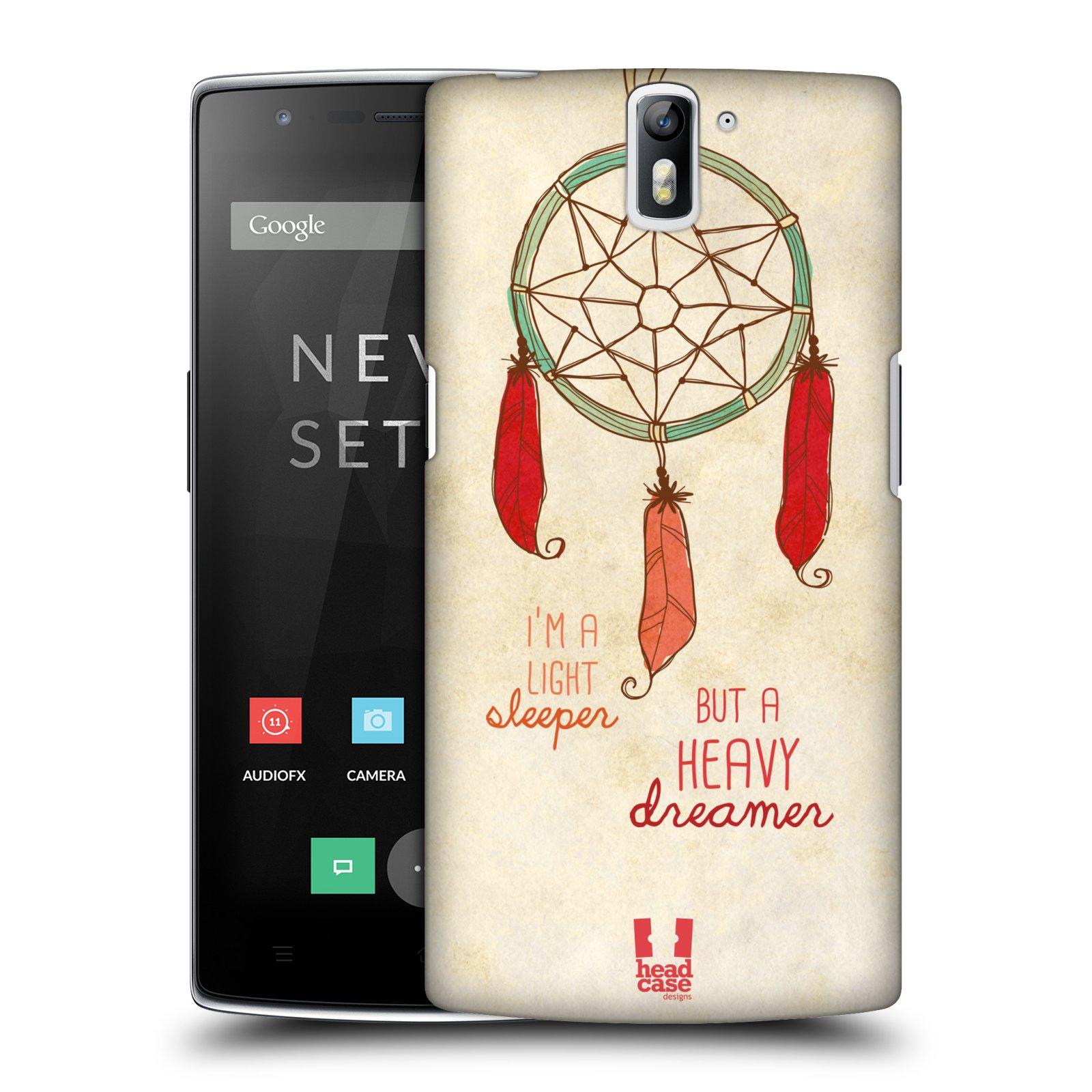 Plastové pouzdro na mobil OnePlus One HEAD CASE LAPAČ HEAVY DREAMER (Kryt či obal na mobilní telefon OnePlus One)