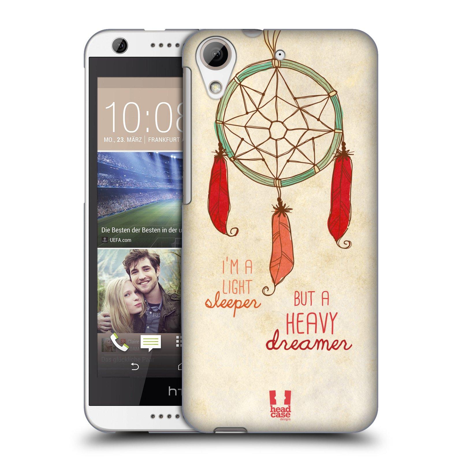 Plastové pouzdro na mobil HTC Desire 626 / 626G HEAD CASE LAPAČ HEAVY DREAMER (Kryt či obal na mobilní telefon HTC Desire 626G Dual SIM a HTC Desire 626)
