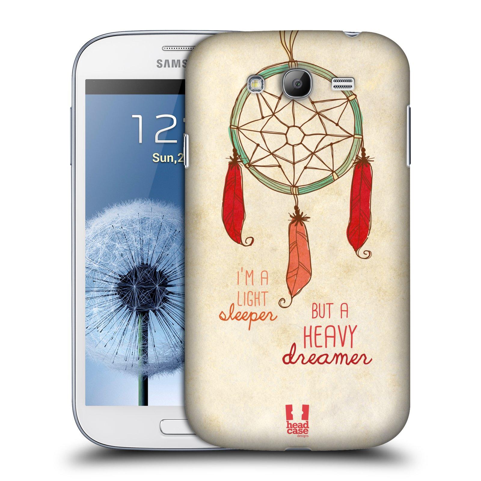 Plastové pouzdro na mobil Samsung Galaxy Grand Neo Plus HEAD CASE LAPAČ HEAVY DREAMER (Kryt či obal na mobilní telefon Samsung Galaxy Grand Neo Plus GT-i9060i)