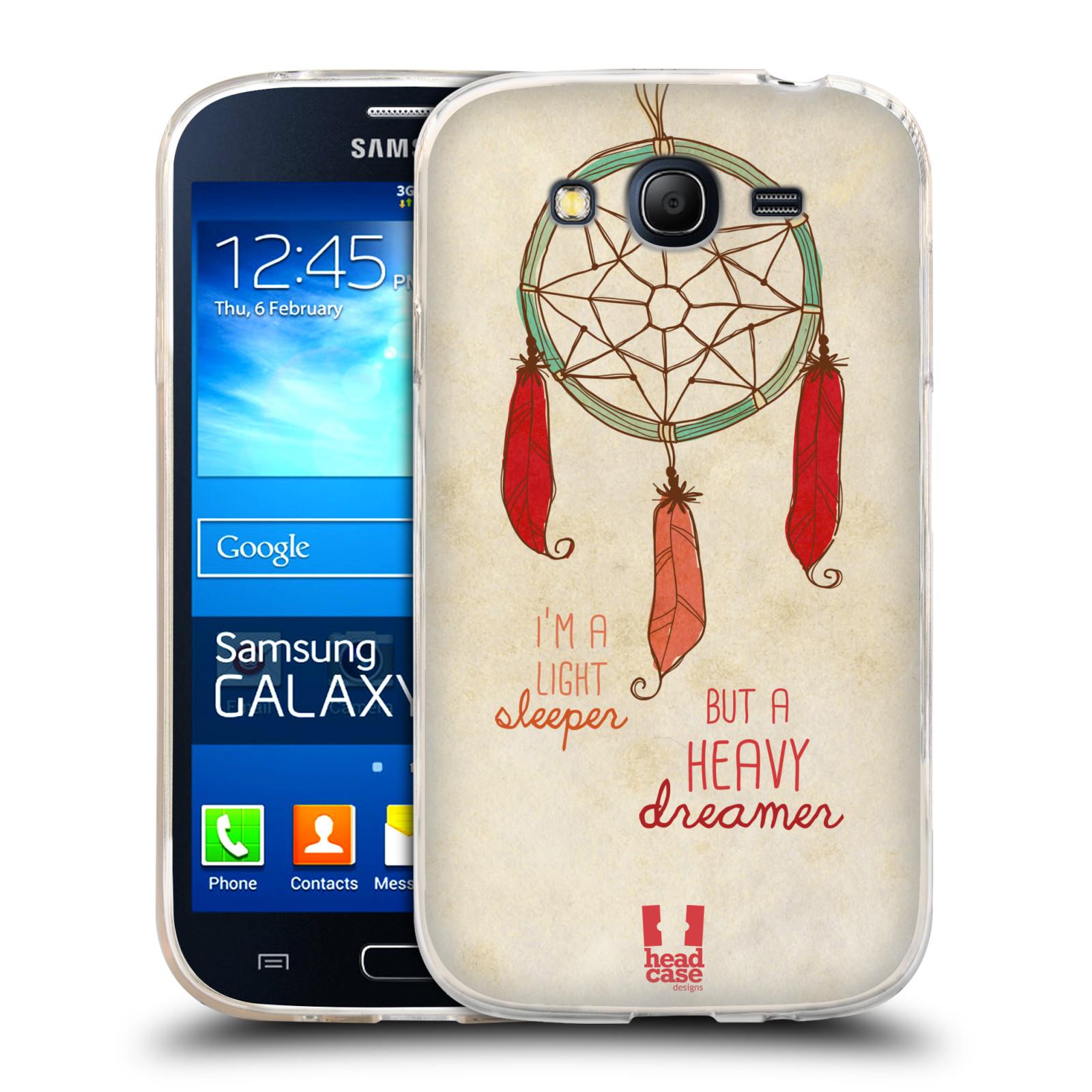 Silikonové pouzdro na mobil Samsung Galaxy Grand Neo HEAD CASE LAPAČ HEAVY DREAMER (Silikonový kryt či obal na mobilní telefon Samsung Galaxy Grand Neo GT-I9060)