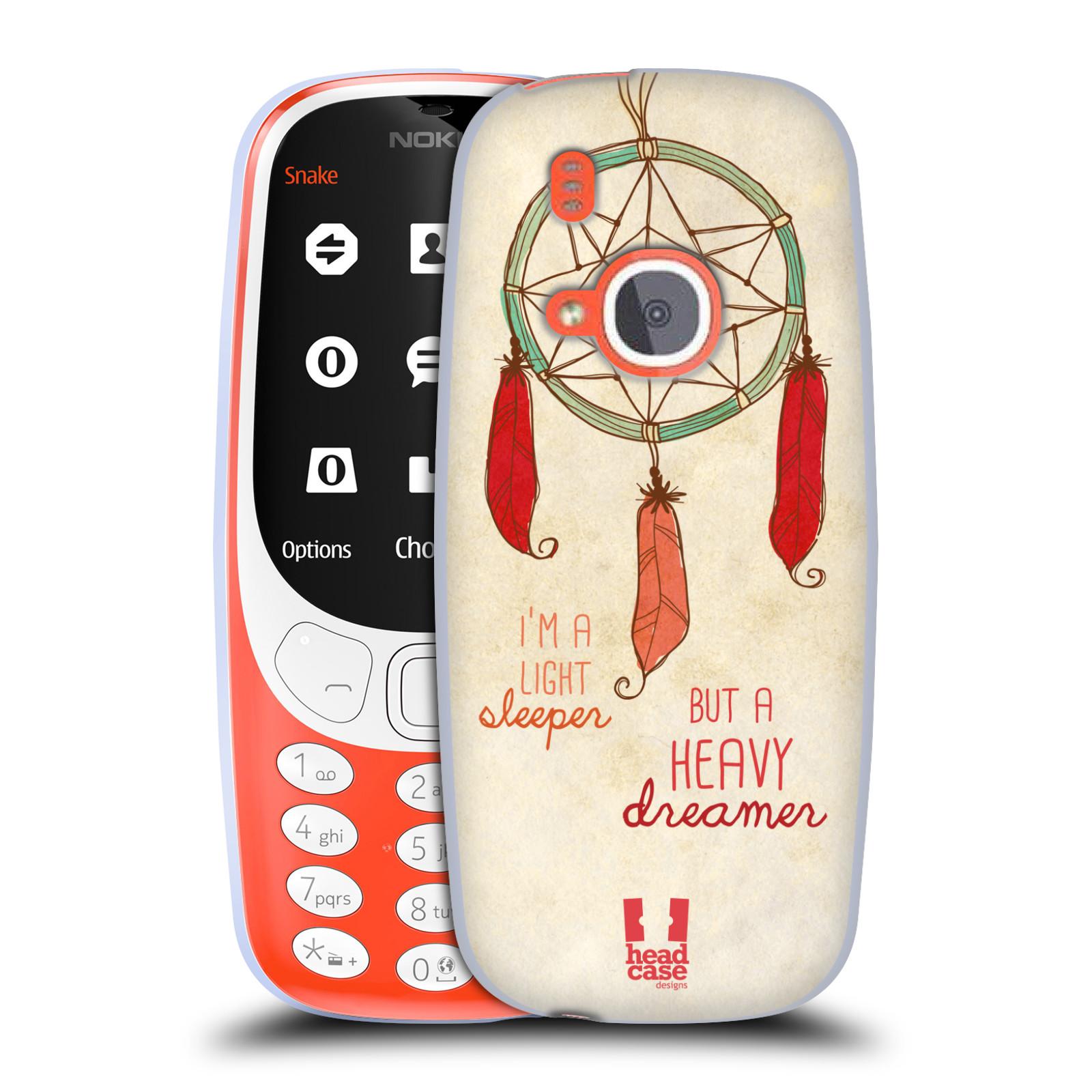 Silikonové pouzdro na mobil Nokia 3310 - Head Case - LAPAČ HEAVY DREAMER (Silikonový kryt či obal na mobilní telefon Nokia 3310 (2017) s motivem LAPAČ HEAVY DREAMER)